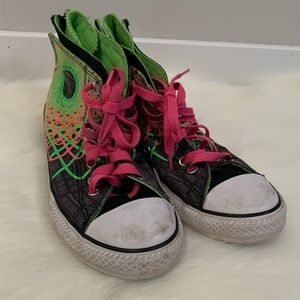 Converse Neon Size 5 Men's (7 womens)